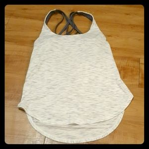 LULULEMON Tank Top padded size 6 like New